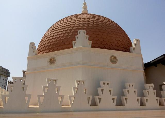 La cupola dello Stand Florio di Palermo