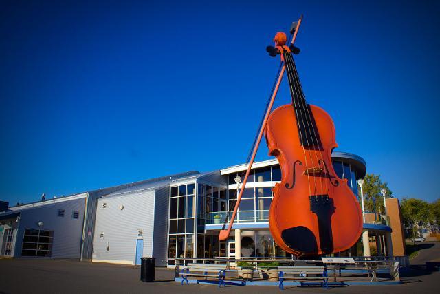 Il violino di Cèilidh di Sydney, Canada