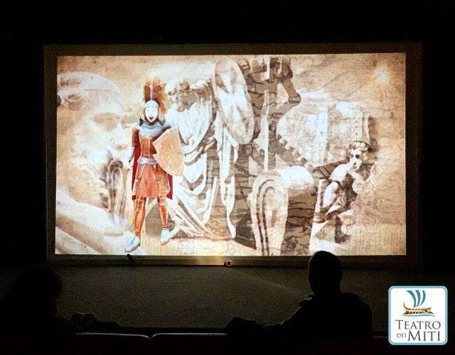 """Il """"Teatro dei Miti"""" a Zafferana Etnea"""
