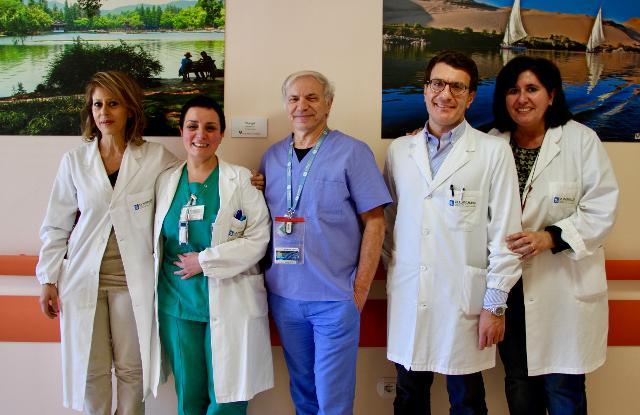 Nella foto da sinistra: Patrizia Villari, Marcella D'Abbene, Sebastiano Mercadante, Claudio Adile e Patrizia Ferrera