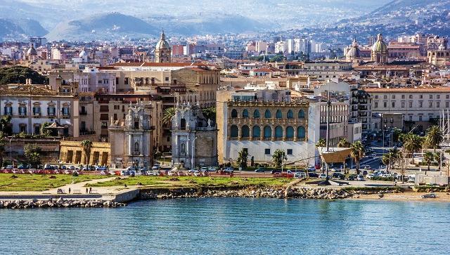 Palermo vista dal mare