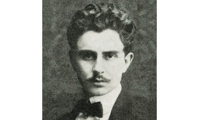 Vincenzo Florio jr in una foto del 1905