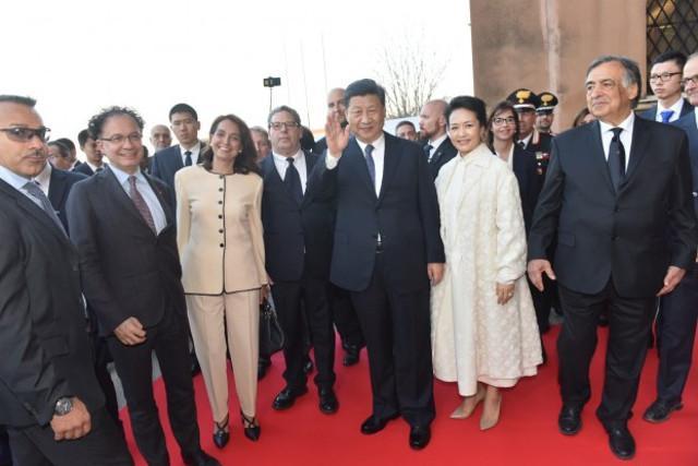 L'omaggio di Fiasconaro al presidente Xi Jinping
