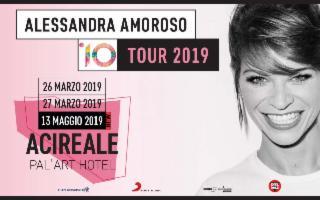 Alessandra Amoroso '10 Tour 2019'