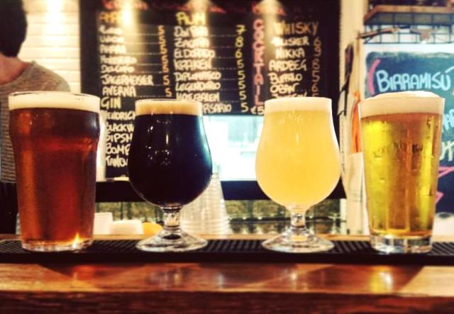 Alcune birre di Ballarak