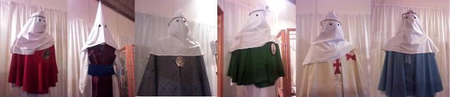 I costumi di alcune confraternite della Settimana Santa di Enna - ph Massimiliano Canale