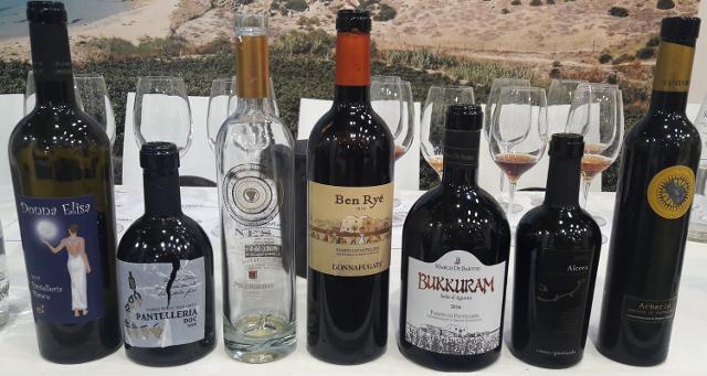 I vini del Consorzio Vini Pantelleria Doc al Vinitaly 2019