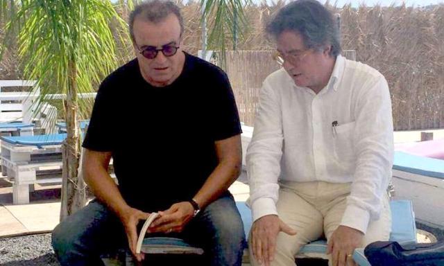 Fabio Granata e Sebastiano Tusa