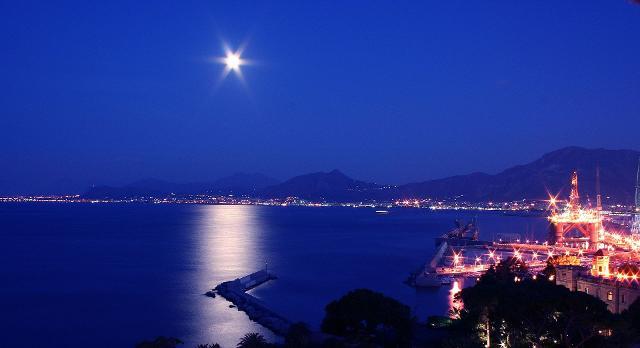 Golfo di Palermo di notte - ph Gabriele Ferrazzi