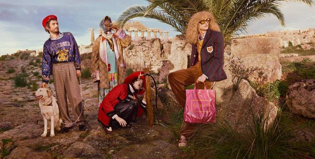 Anche Gucci attinge dalla Sicilia per mettere in risalto la propria maison