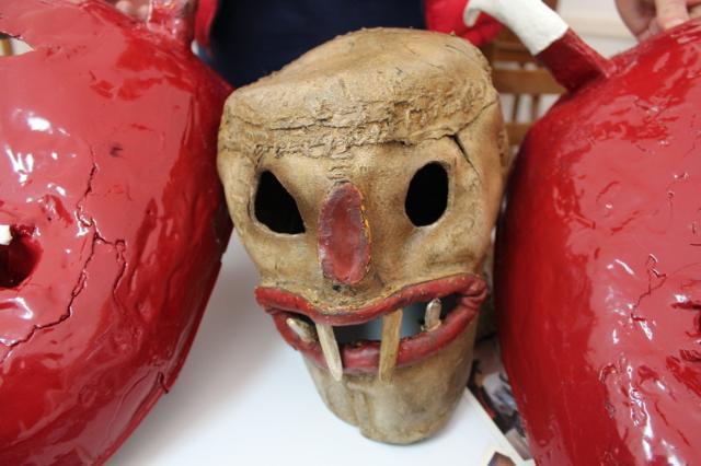 """La maschera della """"Morte"""" nelle celebrazioni de l'Abballu di li Diavuli"""