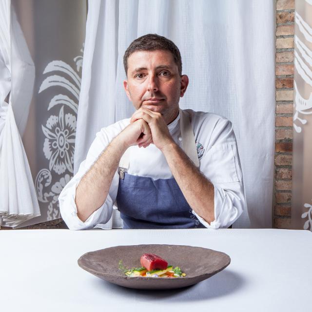 Lo chef Pietro D'Agostino porta la Cucina Mediterranea in India