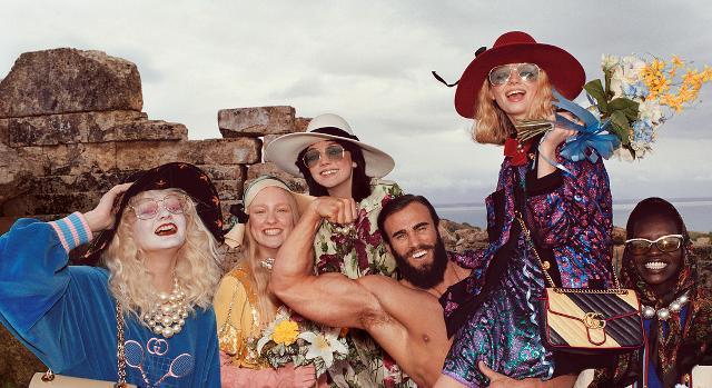 Gucci a Selinunte per la campagna pubblicitaria autunno 2019