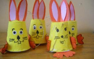 Laboratorio del riciclo di Pasqua