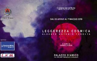 Leggerezza Cosmica, dell'artista nisseno Alberto Antonio Foresta