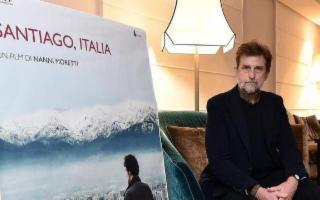 Nanni Moretti a Palermo per film ''Santiago Italia''