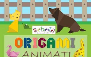 I Bambini creano Origami Animati