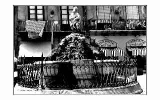 Palermo dettagli foto in bianco e nero
