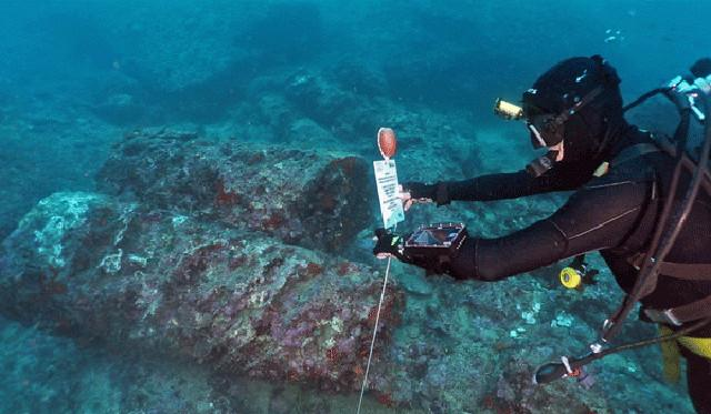 L'archeologia subacquea nell'area di Naxos