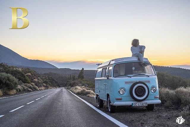 """B come """"Bulli VW"""", per un on the road con Yescapa"""