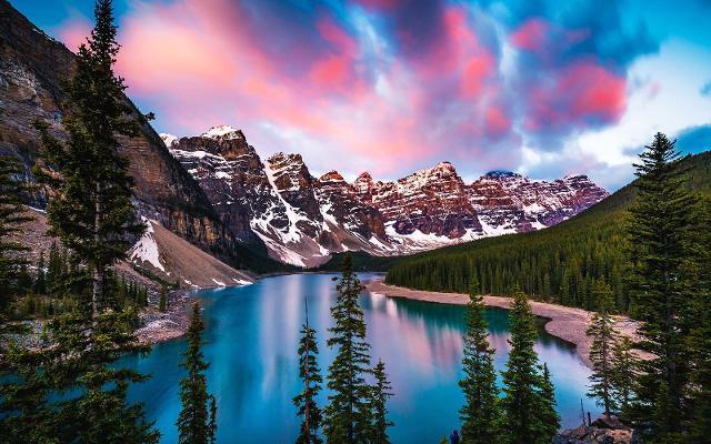 Lago Moraine - Canada