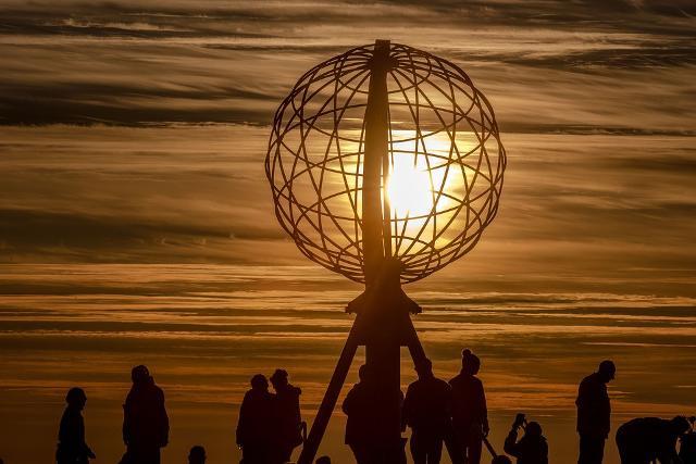 Il Globo di Capo Nord, Norvegia