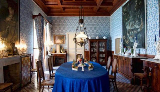 Castello della Falconara, sala da pranzo