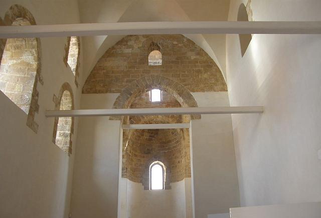 Interno del Castello di Maredolce dopo il restauro - ph F.Lo Valvo