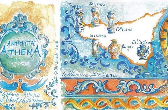 ''Colori di Sicilia'', di Maria Francesca Starrabba