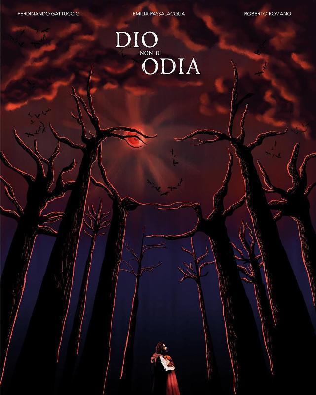 """La locandina del film """"Dio non ti Odia"""" di Fabrizio La Monica"""