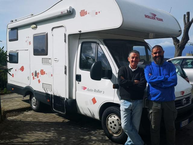 Nino Lentini e Fabrizio Rovella