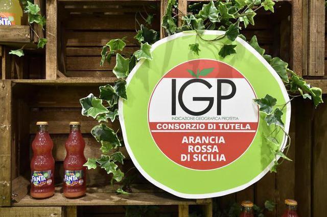 Presentata a Tuttofood Milano la Fanta Aranciata Rossa IGP