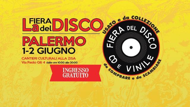 10^ Fiera del Disco a Palermo