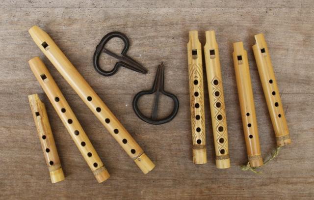Friscaletti e marranzani, due strumenti tipici siciliani