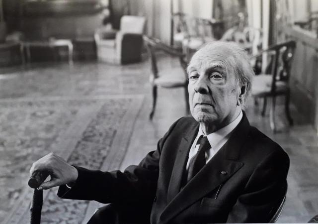 Jorge Luis Borges a Villa Igiea 1984