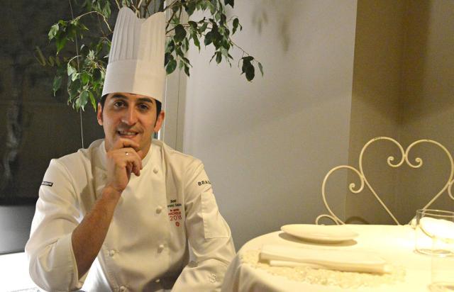 Lo chef Giovanni Santoro