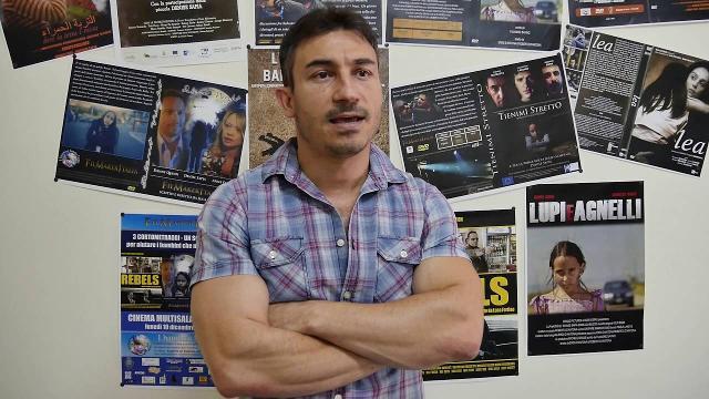 Il regista Luca Fortino