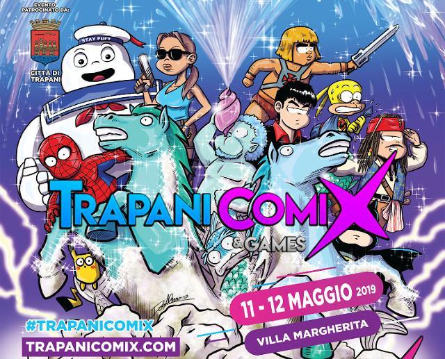 Sta per arrivare il Trapani Comix, il Festival Mediterraneo della cultura pop