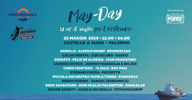May-Day, la Maratona Musicale dei Diritti Umani