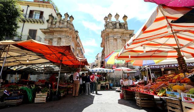 Mercato del Capo, Palermo - ph Francesco Panasci