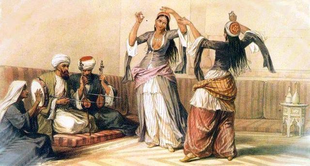 Musica e danza araba