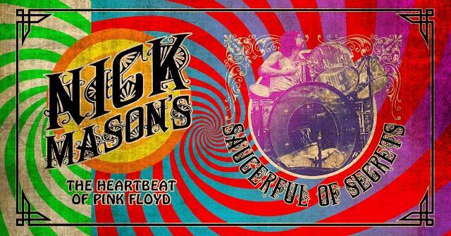 Nick Mason suona i Pink Floyd
