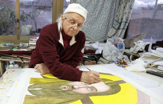 L'artista Pippo Madè
