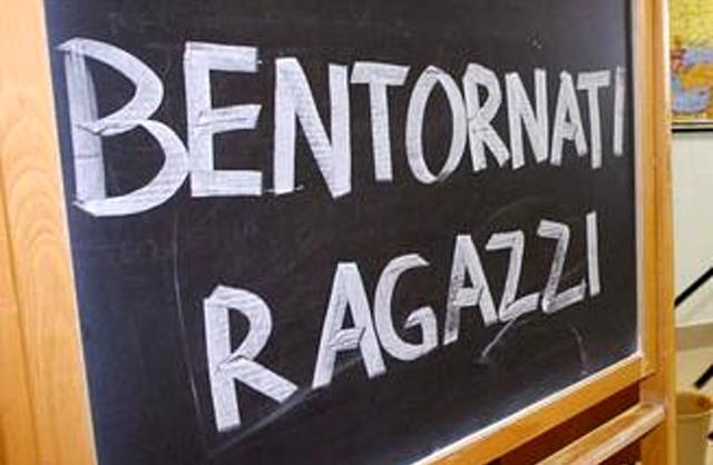Il suono della prima campanella in Sicilia è previsto per giovedì 12 settembre...