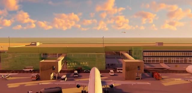 I lavori riguarderanno l'adeguamento sismico e l'ampliamento dell'intero terminal passeggeri