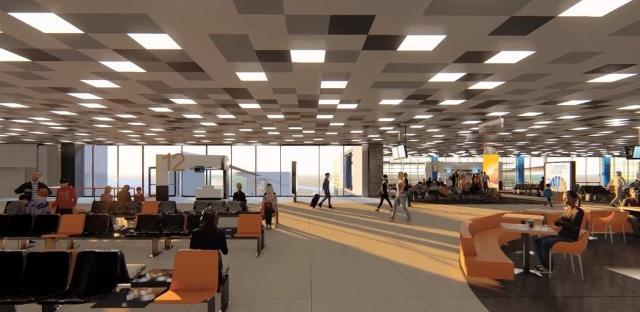 Il terminal cambierà volto, si sporgerà verso il mare e sarà più accogliente e colorato