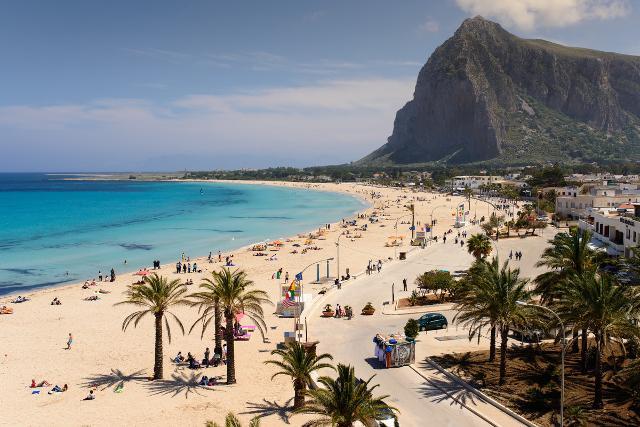 La splendida spiaggia di San Vito Lo Capo