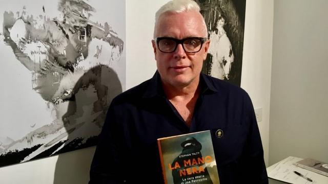 """Lo scrittore statunitense Stephan Talty, autore del libro """"The black hand"""""""
