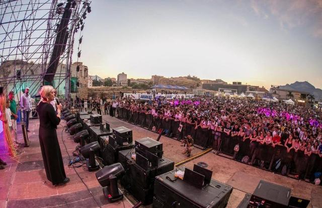 Valeria Grasso sul palco dell'Unlocked Music Festival 2018