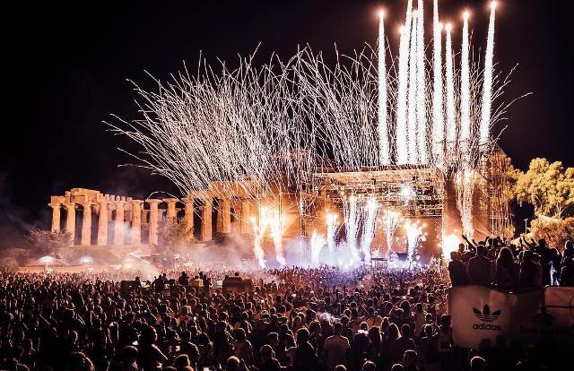 Il concerto di Martin Garrix a Selinunte per la scorsa edizione dell'Unlocked Music Fesival